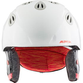 Alpina Grap 2.0 Casque de ski Enfant, white-flame